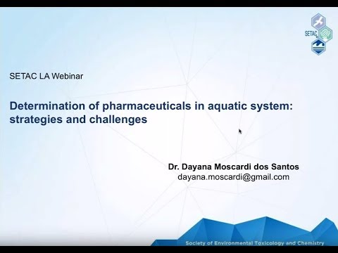 Determination of Pharmaceuticals in Aquatic System: Strategies and Challenges