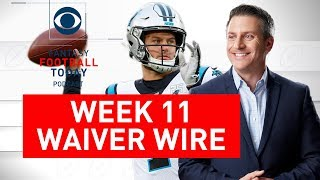 NFL WAIVER WIRE Targets, Week 11 Picks | 2019 Fantasy Football Advice | Fantasy Football Today