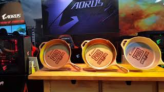 [Expo] WirForce 2017 AORUS Booth Live Walkthrough