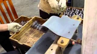 Vacuum Tube Getter Ignition Video - Part 3