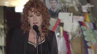 """Fiorella Mannoia canta """"Povera Patria"""" - FALCONEeBORSELLINO 23/05/2017"""