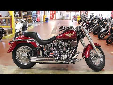 2005 Harley-Davidson FLSTF/FLSTFI Fat Boy® in New London, Connecticut - Video 1