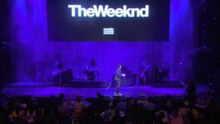 The Weeknd   Earned It (Pre Grammy Live)
