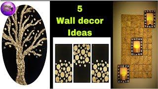 5 Diy Room Decor   Room Decorating  Ideas    Art And Craft   Fashion Pixies   5 Diy   Craft Ideas