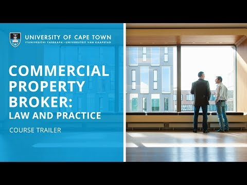 UCT Commercial Property Broker | Course Trailer