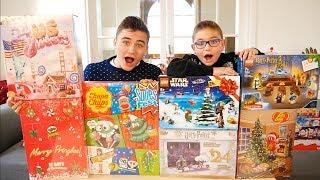 ON DÉBALLE NOS CALENDRIERS DE L'AVENT ! Pringles, Lego, Harry Potter, Marvel, Kinder, Chupa Chups...