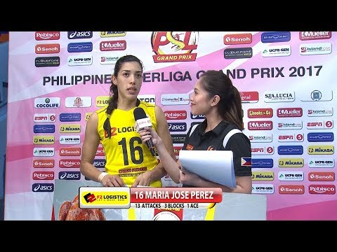 Match MVP: Maria Jose Perez | Chooks-to-Go PSL Grand Prix 2017
