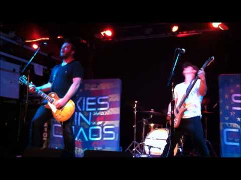 "SKIES IN CHAOS - ""Chasing Trains"" (live)"