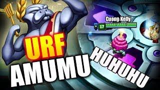 Amumu URF - Thánh Khóc Nhè Làm �ược Gì Trong AR URF ?