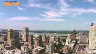 Flyral Downtown Memphis Drone Aerial Promo