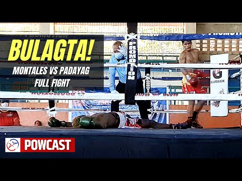Bulagta! Sugary Montales vs Michael Padayag Full Boxing Fight | MP Promotions