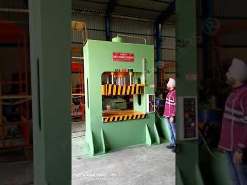 200 Ton Box Frame Hydraulic Press