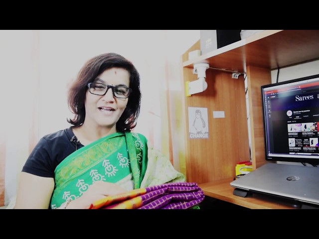 103 Ilkal cotton and silk saree by Bindu Lakshmi Kankipati | Sarees are my passion