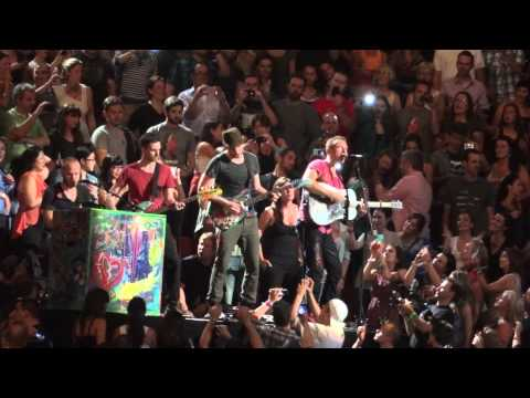Coldplay Speed of Sound Live Montreal 2012 HD 1080P
