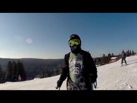 Видео: Видео горнолыжного курорта Гора, горнолыжная база, Пермь в Пермский край