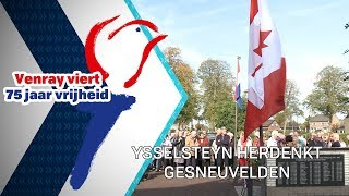 Ysselsteyn herdenkt gesneuvelden - 14 oktober 2019 - Peel en Maas TV Venray