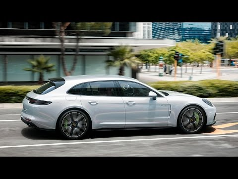 Porsche Panamera Sport Turismo Универсал класса E - рекламное видео 8