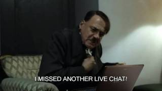 Hitler Waits For Lauren Francesca's Next Live Chat
