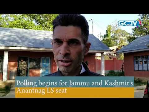 Polling begins for Jammu and Kashmir's Anantnag LS seat