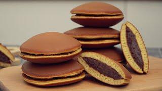 Dorayaki Recipe - Japanese Pancake Street Food