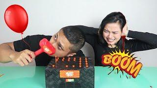 BLAST BOX BALOON CHALLENGE | AA UTAP