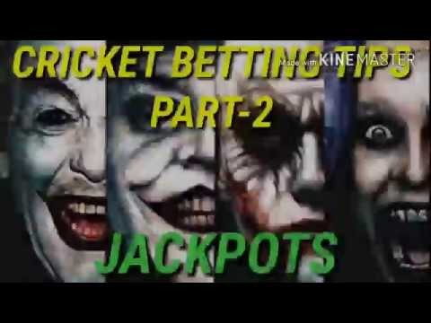 Cricket Betting tips,part -2.