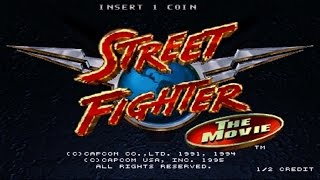 Movies to Video Games Review - Street Fighter The Movie (Arcade)