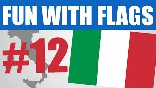 Fun With Flags #12 - Flag Of Italy