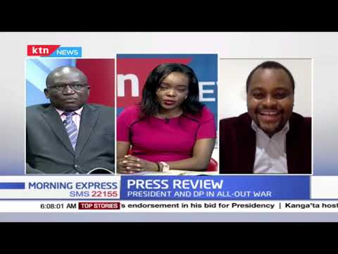 Ruto answers Uhuru as battle for Mt. Kenya vote intensifies | PRESS REVIEW