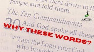 Before the Commandments.