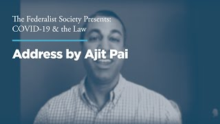 Click to play: Address by Ajit Pai