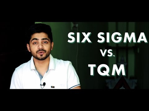 SIX SIGMA VS  TQM IN HINDI | Concept & Difference