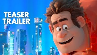 "Watch the teaser trailer for Ralph Breaks the Internet: Wreck-It Ralph 2. See the film in theatres this Thanksgiving.  ""Ralph Breaks the Internet: Wreck-It Ralph 2"" leaves Litwak's video arcade behind, venturing into the uncharted, expansive and thrilling world of the internet—which may or may not survive Ralph's wrecking. Video game bad guy Ralph (voice of John C. Reilly) and fellow misfit Vanellope von Schweetz (voice of Sarah Silverman) must risk it all by traveling to the world wide web in search of a replacement part to save Vanellope's video game, Sugar Rush. In way over their heads, Ralph and Vanellope rely on the citizens of the internet—the netizens—to help navigate their way, including a webite entrepreneur named Yesss (voice of Taraji P. Henson), who is the head algorithm and the heart and soul of trend-making site ""BuzzzTube."" Directed by Rich Moore (""Zootopia,"" ""Wreck-It Ralph"") and Phil Johnston (co-writer ""Wreck-It Ralph,"" ""Cedar Rapids,"" co-writer ""Zootopia,""), and produced by Clark Spencer (""Zootopia,"" ""Wreck-It Ralph,"" ""Bolt""), ""Ralph Breaks the Internet: Wreck-Ralph 2"" hits theaters on Nov. 21, 2018.  See more from official Disney Animation:  Facebook: https://www.facebook.com/DisneyAnimation Twitter: https://twitter.com/disneyanimation  Welcome to the official Walt Disney Animation Studios YouTube channel! There's much from the archive that we want to share, while also giving you glimpses into our current studio--a dynamic place full of fresh voices and talent. Become a subscriber today!"