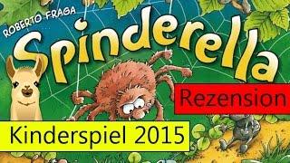 Spinderella / Kinderspiel des Jahres 2015 / Anleitung & Rezension / SpieLama