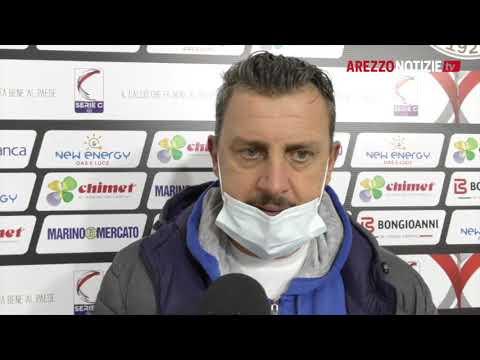 Arezzo-Samb 2-3, intervista a mister Camplone