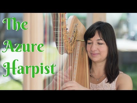 The Azure Harpist Video