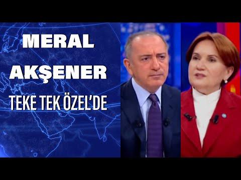 İYİ Parti Genel Başkanı Meral Akşener Habertürk te   Teke Tek Özel -  28 Nisan 2020