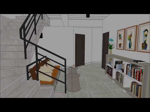 Download Sketchup Interior Design Apartment Video 3GP Mp4 FLV HD Mp3