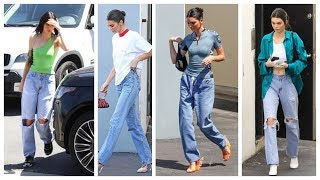 Kendall Jenner Jeans Style