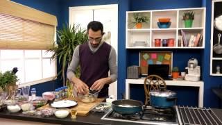 سمك على الطريقة التركية وعصير طماطم مع هانى عبد الناصر فى سوبر هاتريك (الجزء الأول)