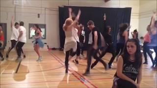 Descendants Cast - Set It Off  Rehearsal