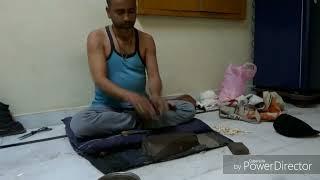 How to make jodhpuri mojari with leather हाथ से बनाई गई चरम जूती