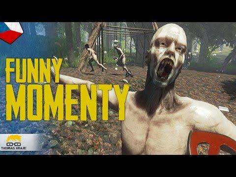 THE FOREST ZÁBAVNÉ MOMENTY! :D  | w/ Kea | (vtipný sestřih)