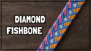 Diamond Fishbone Friendship Bracelet