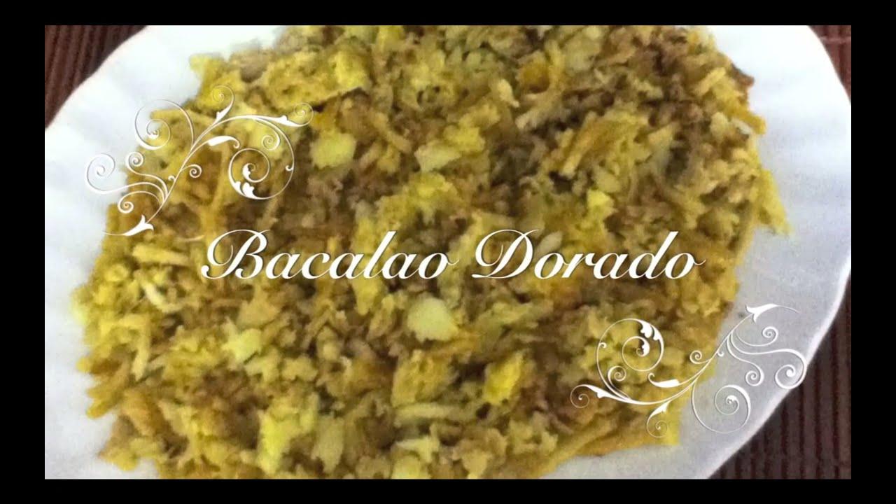 Receta de Bacalao Dorado | Bacalao a la Dorada | Receta Bacalao Dorado | Como hacer Bacalao Dorado