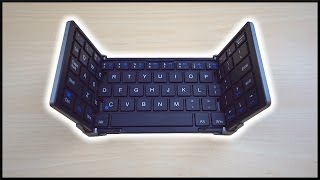 The Foldable Bluetooth Keyboard!