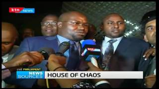 News Sources: Hon. Johana Ngeno Kipyegon reaffirms his stand  on CORD, 20/12/16