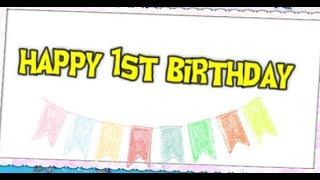 Happy 1st Birthday Boy || First Birthday Wishes & Quotes