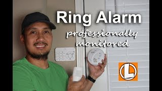 Ring Alarm Update - Professional Monitoring Sign up, First Alert Smoke and CO Alarm Setup