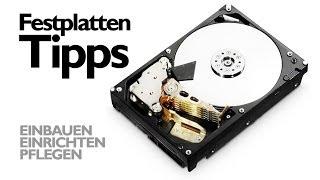 Festplatte   Richtig einbauen, einrichten und pflegen